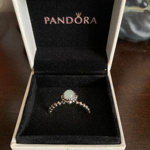 Pandora Birthday Bloom Ring March Stone